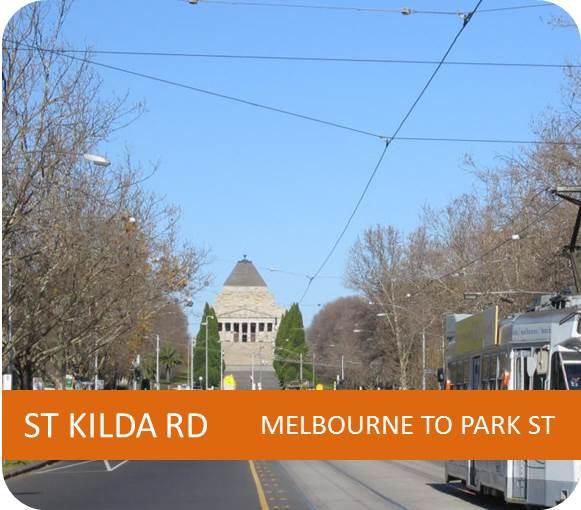 ST KILDA RD MELBOURNE TO PARK ST