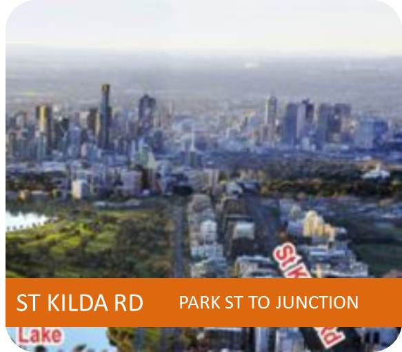 ST KILDA RD PARK ST TO JUNCTION