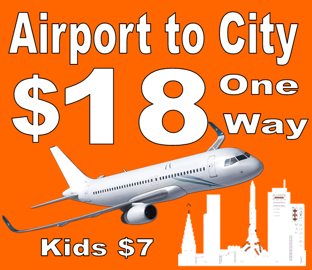 Airport-to-city-one-way