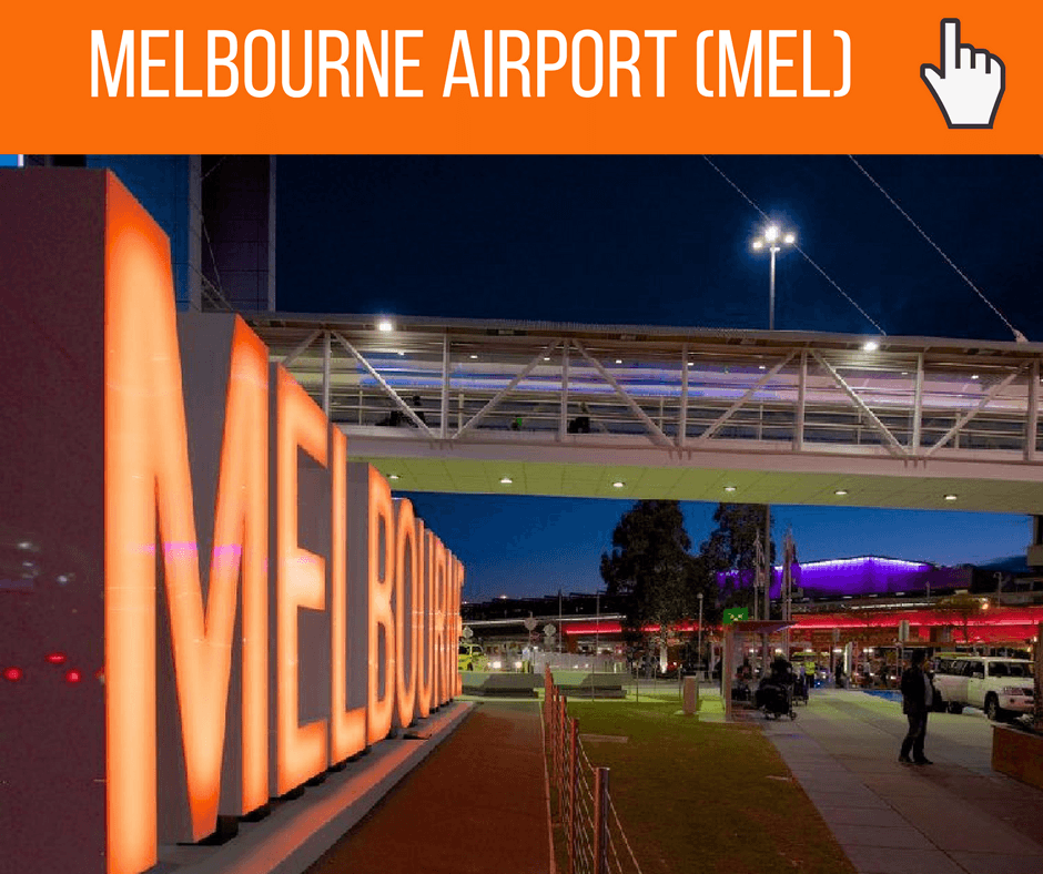 melbourne how to get to airport